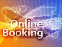 Online reis Royalty-vrije Stock Foto