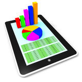 Online Report Represents World Wide Web And Computing Royalty Free Stock Photo