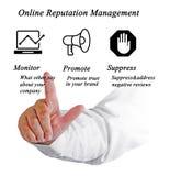 Online Reputation Management Royalty Free Stock Image