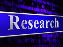 Online Research Indicates World Wide Web And Analyse Stock Images