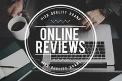 Online Reviews Evaluation Inspection Assessment Auditing Concept Royalty Free Stock Photo