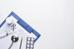 Online rx prescription concept pills Stock Photography