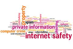 Online safety Stock Photography