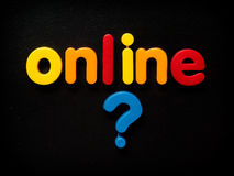 Online safety concept Royalty Free Stock Photo