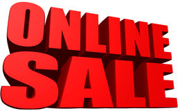 Online sale Stock Photo