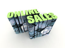 Online sales Royalty Free Stock Images
