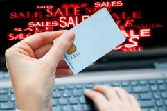 Online sales concept Stock Images
