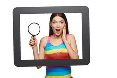 Online search concept. Royalty Free Stock Image