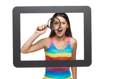 Online search concept. Stock Image