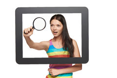 Online search concept. Royalty Free Stock Photos