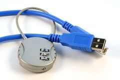 Online security. Online/internet security Royalty Free Stock Photos