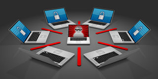 Online Security Royalty Free Stock Photography
