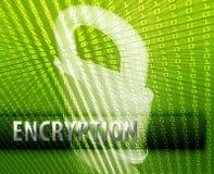 Online security vector illustration