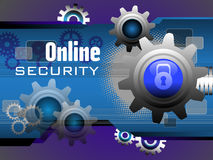 Online security Royalty Free Stock Image