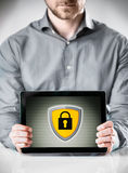 Online security concept Stock Photography