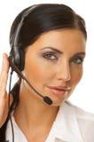 online sekretarka zdjęcia stock