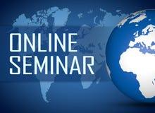 Online Seminar Royalty Free Stock Images