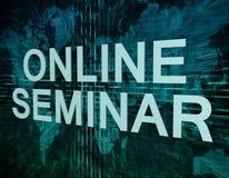 Online Seminar Royalty Free Stock Image