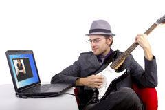 Online Serenade Royalty Free Stock Photo