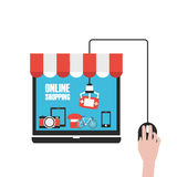 Online shop Royalty Free Stock Photo
