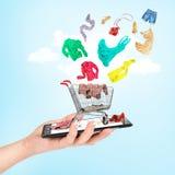 Online shop concept. Stock Photos