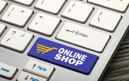 online shop Stock Photo