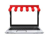 Online-Shop-Konzept lokalisiert Stockbilder