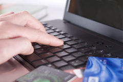 Online Shopping. Stock Photography