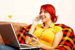 Online shopping Stock Photos