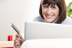 Online Shopping Stock Photo