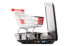 Online shopping. Royalty Free Stock Image
