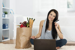 Online Shopping Royalty Free Stock Photos