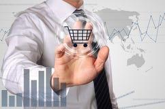 Online-shopping Royaltyfria Foton