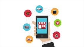 Online shopping clip