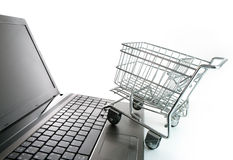 Online shopping concept Stock Photos