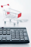 Online Shopping Concept Stock Photography