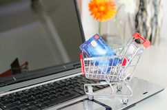 Online shopping concept Royalty Free Stock Photography