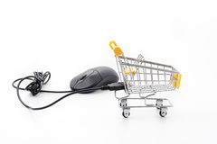 Online shopping concept Royalty Free Stock Images