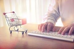 Online shopping concept. Royalty Free Stock Photos
