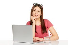 Online shopping concept. royalty free stock photo