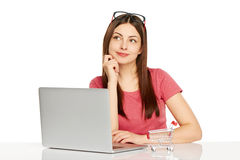 Online shopping concept. Stock Photography