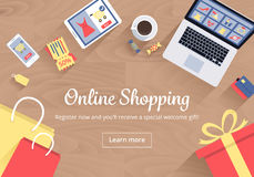 Online Shopping Concept Stock Images