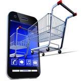 Online shopping Royalty Free Stock Photos