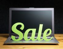 Online shopping and e-commerce concept. Royalty Free Stock Photos
