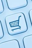 Online shopping e-commerce ecommerce internet shop computer web Stock Photography