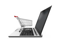 Online Shopping Illustration Royalty Free Stock Images