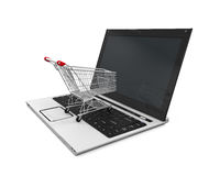 Online Shopping Illustration Stock Images