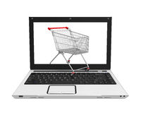 Online Shopping Illustration Royalty Free Stock Image