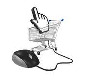 Online Shopping Illustration Stock Photo