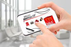 Online shopping. Stock Image